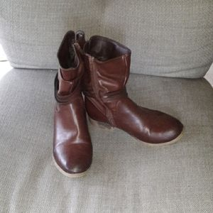 Mia girls 4 brown boots